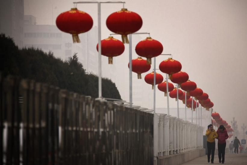 A Smoggy Day in Beijing