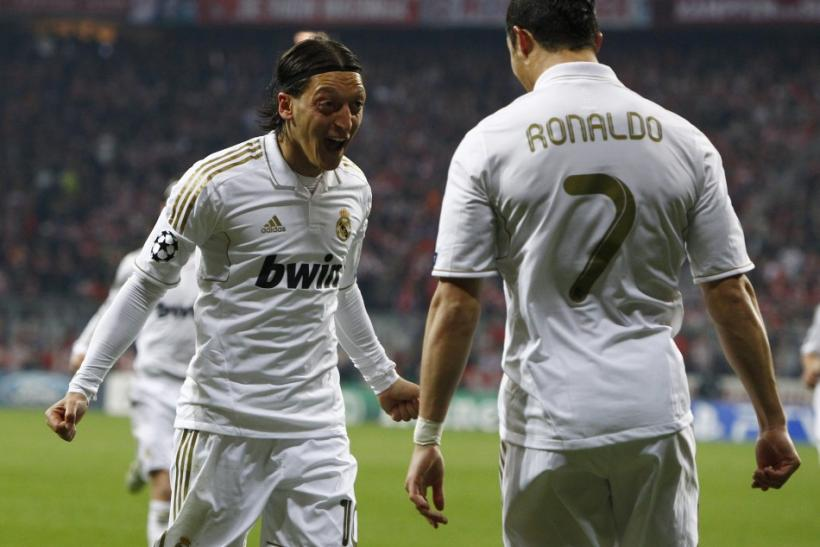 Watch highlights of Bayern Munich Vs. Real Madrid in the Champions League semi-final first-leg.