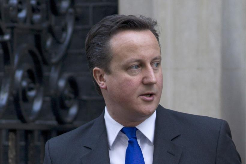 David Cameron went on the offensive during Prime Minister's Questions