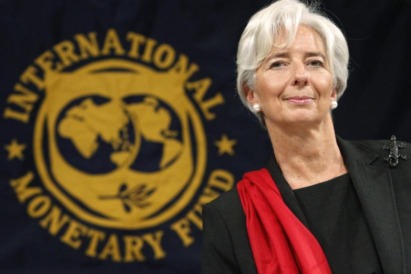 IMF Managing Director Christine Lagarde