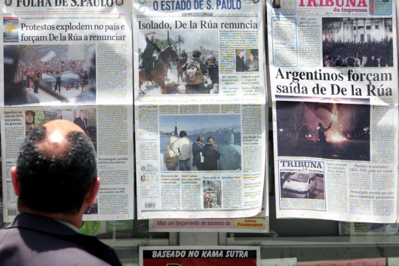 Journalism can be a dangerous trade in Brazil.