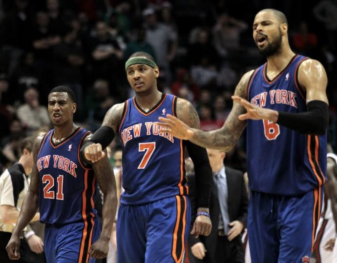 The Knicks haven't won a playoff series since 2000.
