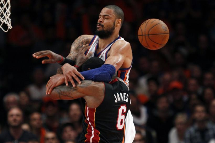 Tyson Chandler is Defensive Player of the Year for the lockout-shortened season.