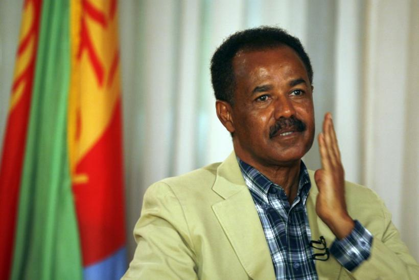 Eritrean President Afwerki during a 2008 interview in Asmara, the capital