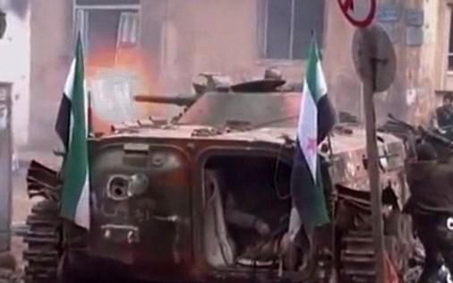 Syria free syris troops fire on assad forces