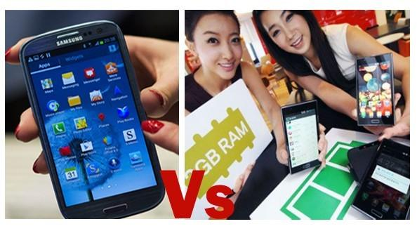 Samsung Galaxy S3 vs LG Optimus LTE 2: Can LG Revamp Its Status And Beat The Biggie With 2GB RAM And 2150mAh Battery?