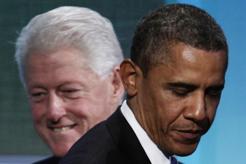 """Bill Clinton Wanted Hillary to Run Against """"Incompetent"""" Obama: Book"""