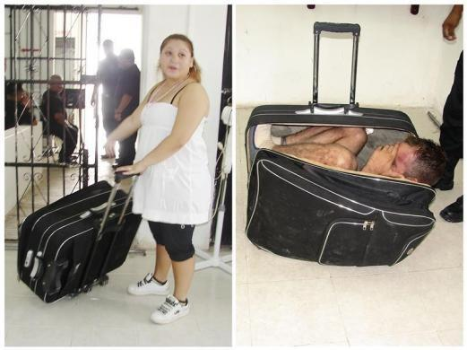 Escaping From Prison in a Briefcase