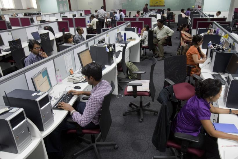 High-Tech Workers In Bangalore, India
