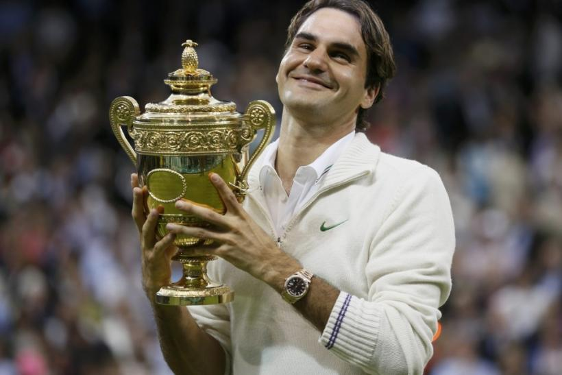 Roger Federer 7th Wimbledon Victory