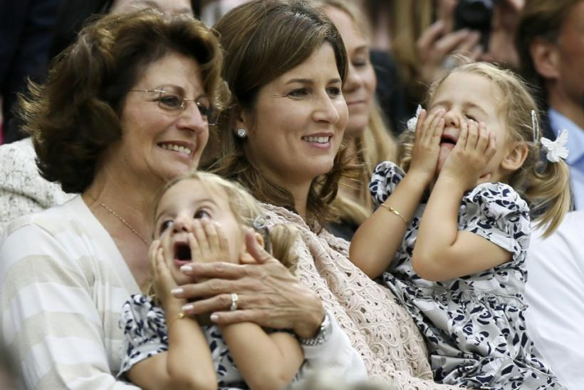 The wife of Roger Federer