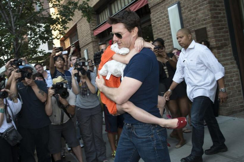 It's Papa's Day Out With Suri