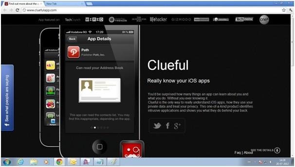 Clueful Gets the Boot from Apple App Store