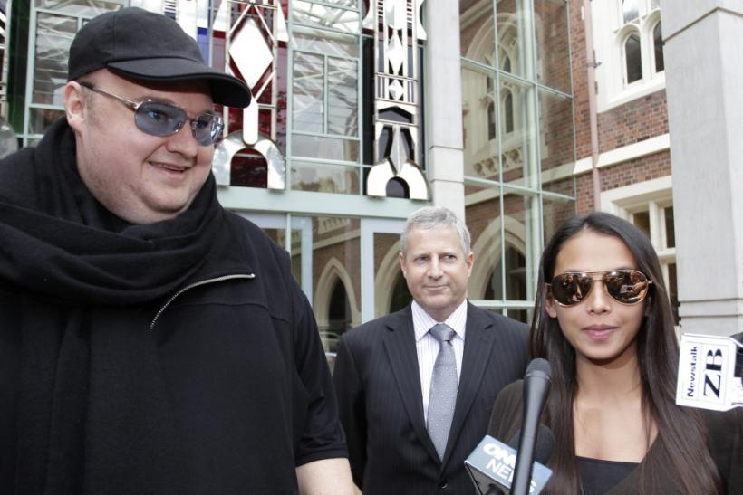 Kim Dotcom and wife Mona