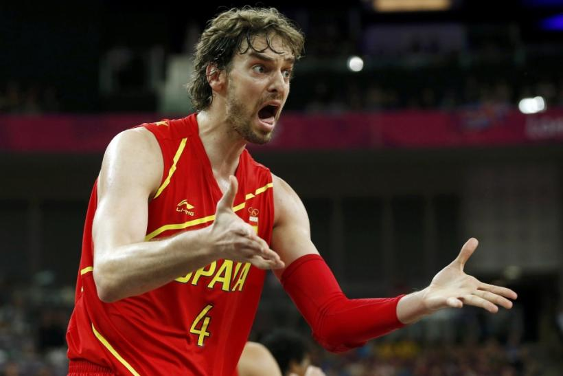 Pau Gasol could be traded before the 2012 Olympics are even over.