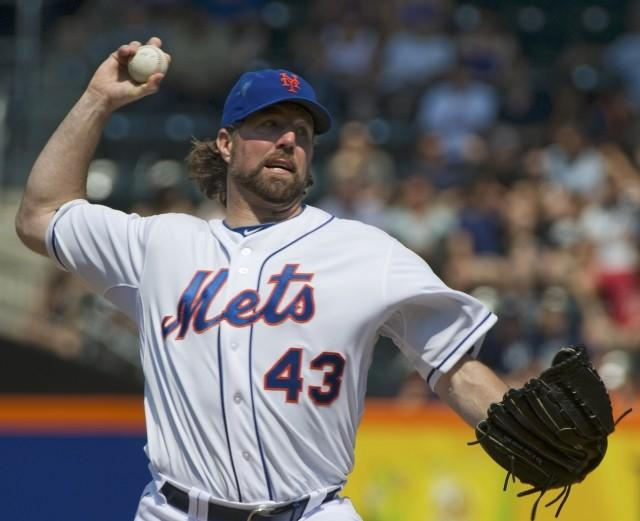R.A. Dickey is having the best season of his career at age 38.