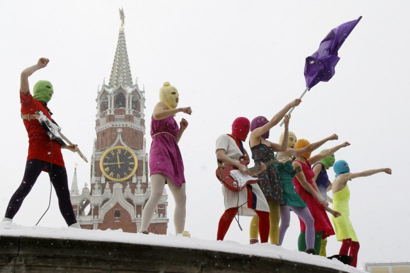 Live From Moscow: An Anti-Putin Performance