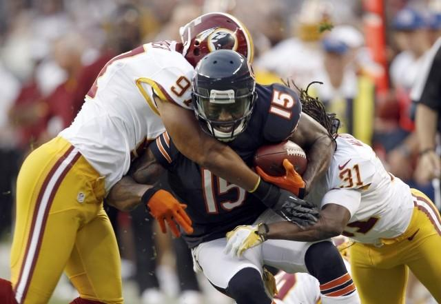 Brandon Marshal had 1,214 receiving yards for the Dolphins in 2011.