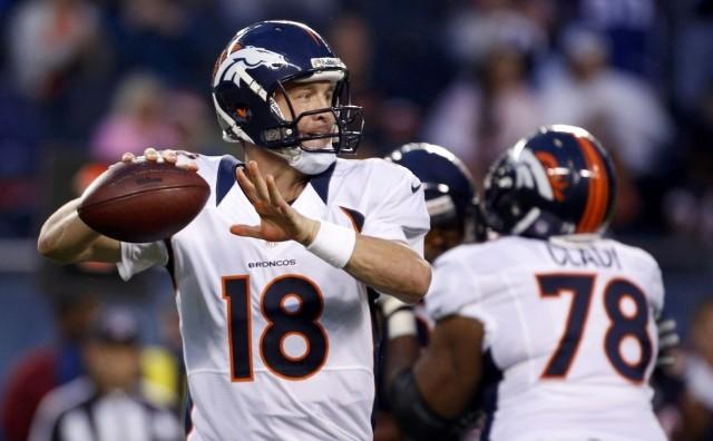 Peyton Manning and the Broncos face the Patriots in Week 5.