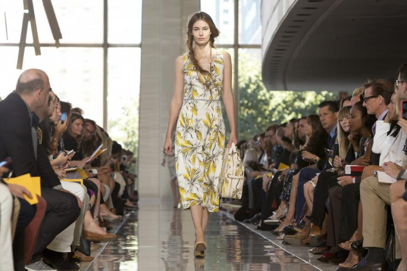 Tory Burch Spring 2013 collection at Mercedes-Benz Fashion Week in New York