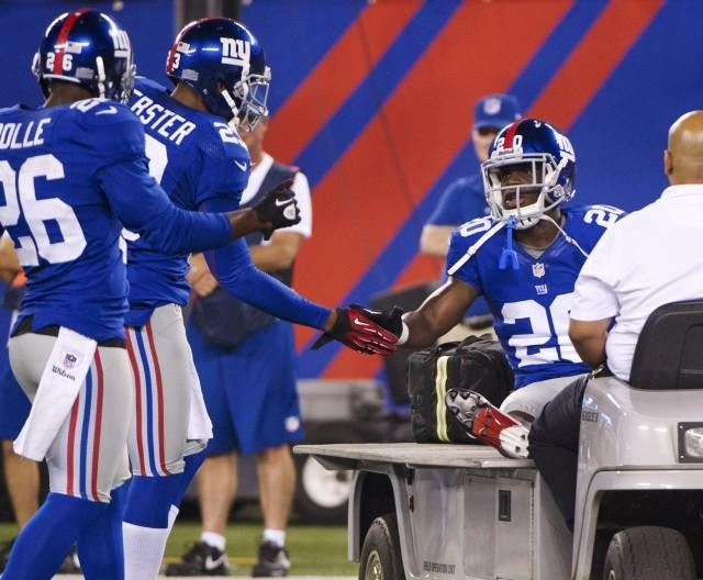 The Giants take the field on Sunday for the first time in 11 days.