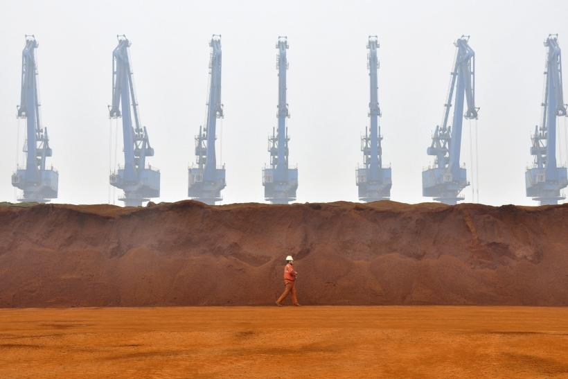 An iron ore deposit in Australia. The central bank in that country eased monetary policy on dimmer-than-expected views of the economy.