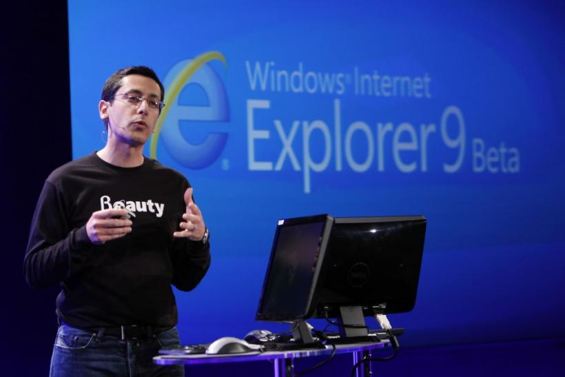 Microsoft Corp Vice President of Internet Explorer Dean Hachamovitch