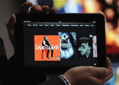 Amazon's Kindle Fire with Texas Instruments chip