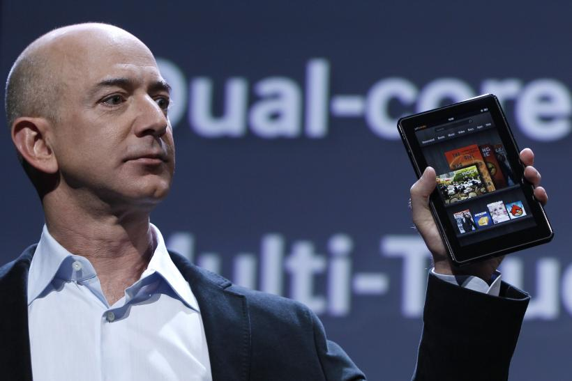 Amazon.com CEO Jeffrey Bezos