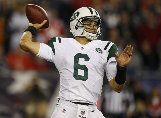 Mark Sanchez has been benched with two games left.