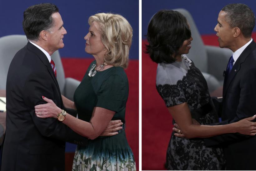 Obamas And Romneys