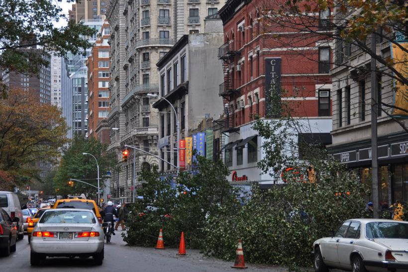 Hurricane Sandy Cleanup in NYC