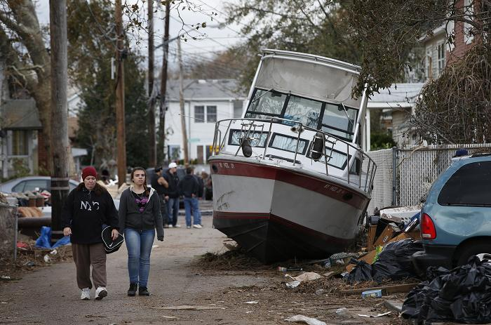 Sandy 2 Nov 2012 Boat on street 2