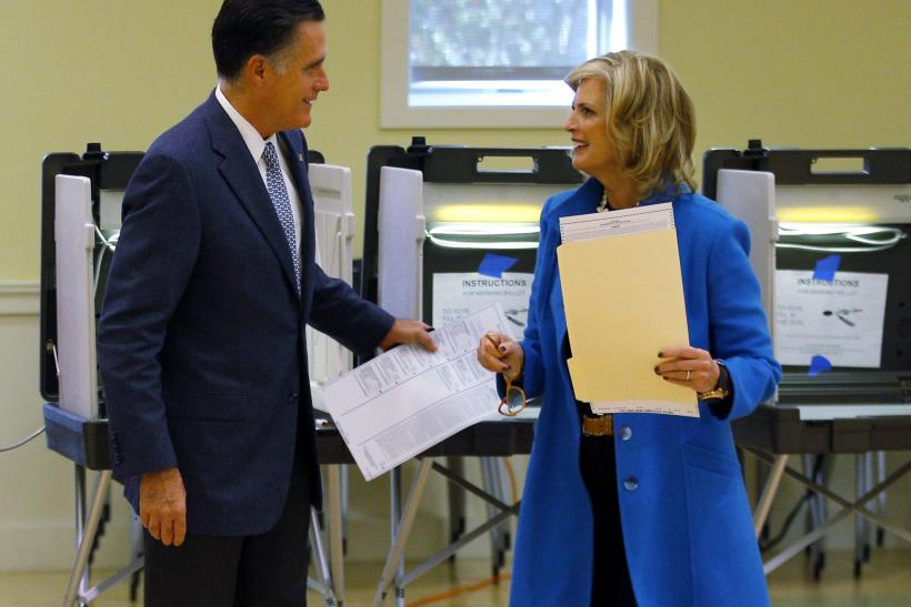 Candidates Head To The Polls