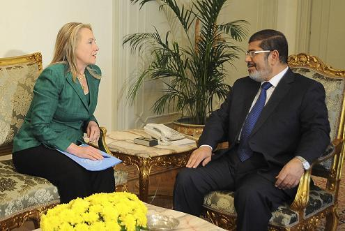 Clinton And Morsi