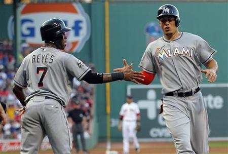 Giancarlo Stanton may have played his last game for the Marlins.