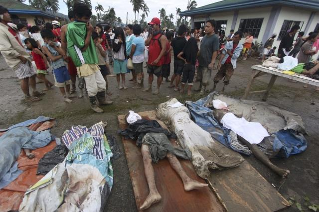 Typhoon Bopha victims