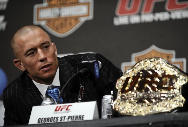 Georges St Pierre Wants To Settle Score With Nick Diaz