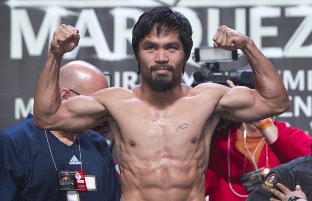 Manny Pacquiao is 54-5-2 in his boxing career.