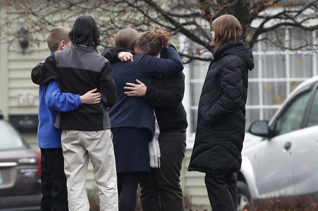 Newtown Mourners