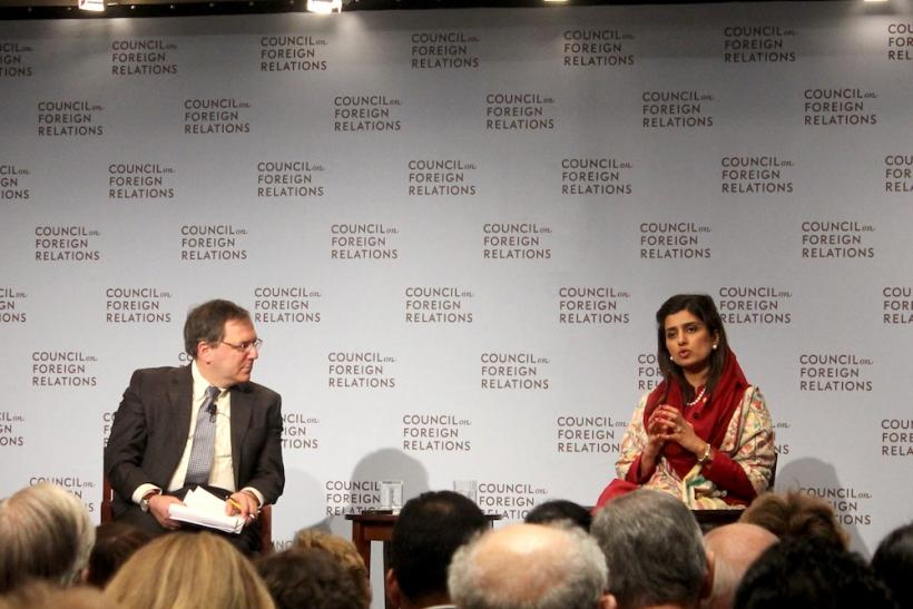 Pakistani Foreign Affairs Minister Hina Rabbani Khar