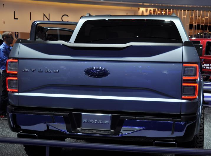 Ford Atlas concept pickup truck