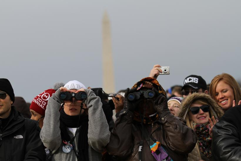 National Mall Obama Second Inaugural