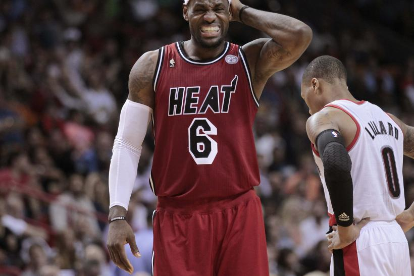 LeBron James Miami Heat