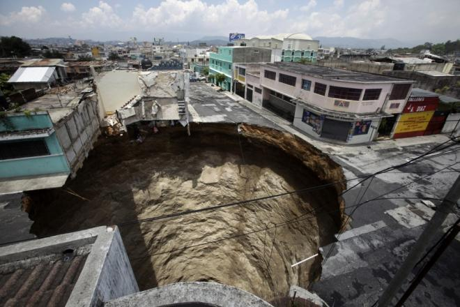 Terrifying Sinkhole Pictures From Around World