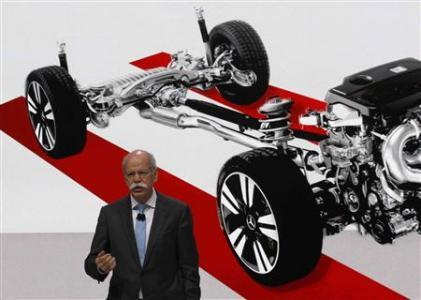 Daimler AG Chief Executive Dieter Zetsche