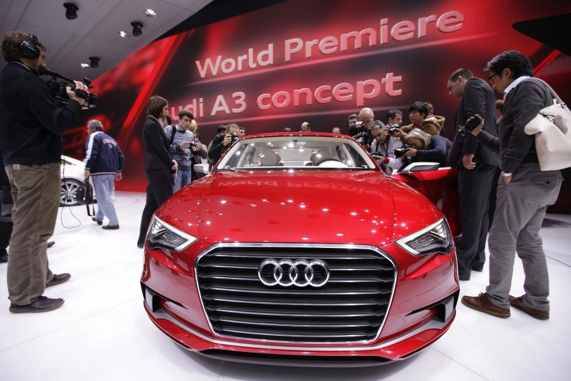 Audi Looks To Top Bmw And Mercedes In 2013 With A3 Sedan