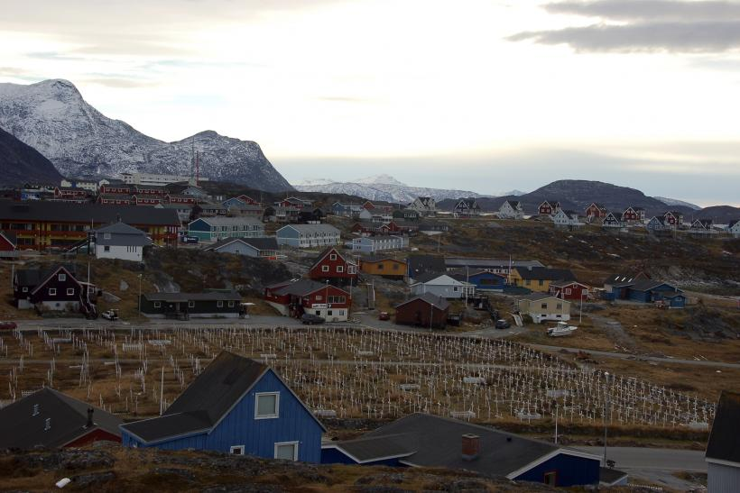 Cemetery at Nuuk, Greenland