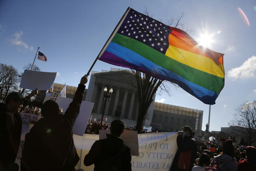 Pro-Gay Marriage Protesters