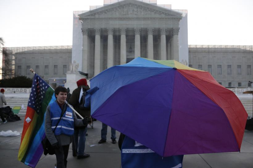 Supreme Court Gay Marriage 26 March 2013 Umbrella